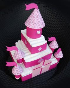 Babybauch torte mädchen