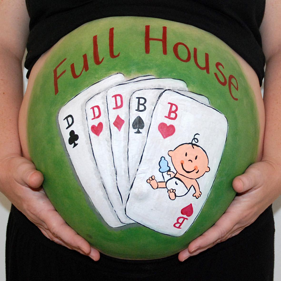 Babybauchbemalung Mit Schminke Dm Babybauchdesign